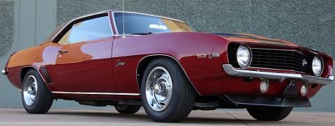 1969 Chevrolet Camaro Z-28 na prodej