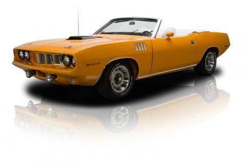 1971 Plymouth 'Cuda Convertible na prodej