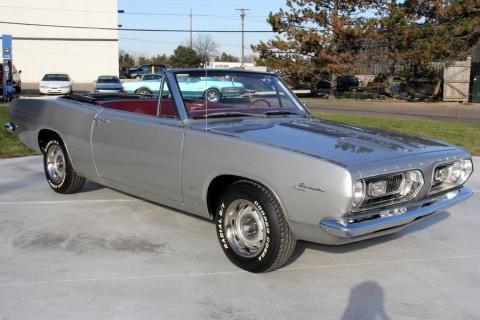 1967 Plymouth Barracuda Convertible na prodej