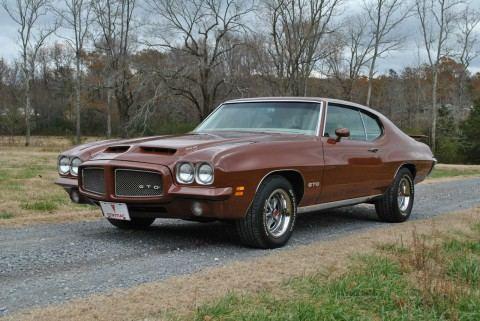 1971 Pontiac GTO na prodej
