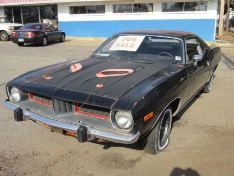 1973 Plymouth 'Cuda na prodej