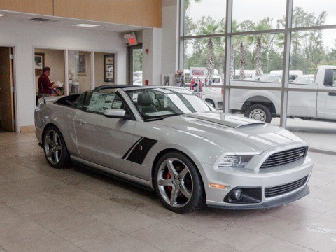 2014 Ford Mustang GT Roush Convertible na prodej
