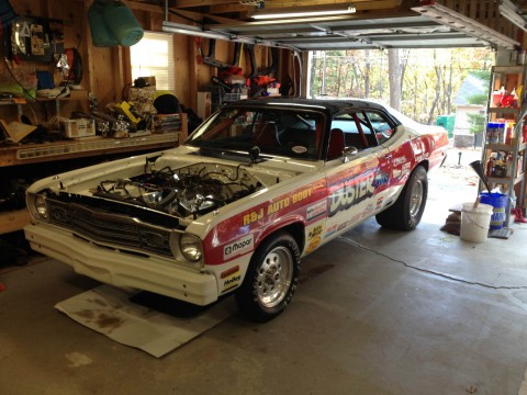 1973 Plymouth Duster na prodej