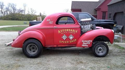 1940 Willys Gasser na prodej