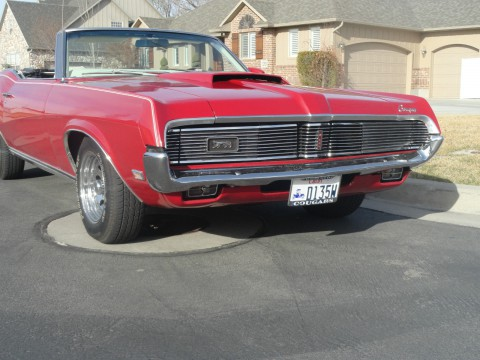 1969 Mercury Cougar XR-7 Convertible na prodej