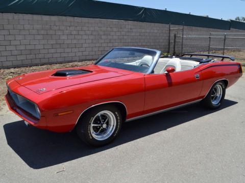 1970 Plymouth Barracuda Convertible na prodej