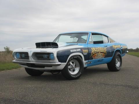1968 Plymouth Barracuda na prodej