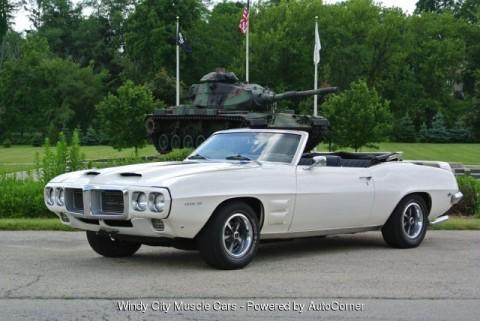 1969 Pontiac Firebird Convertible na prodej