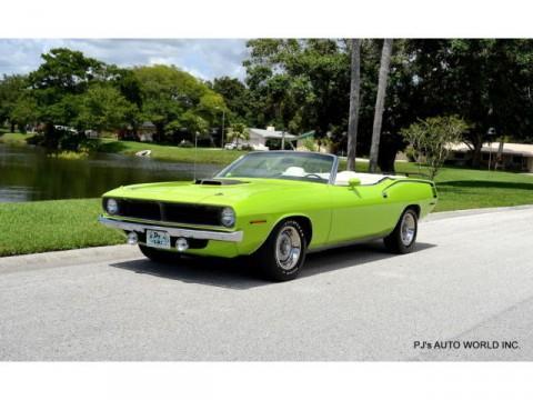 1970 Plymouth Barracuda na prodej