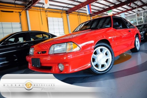 1993 Ford Mustang SVT Cobra na prodej