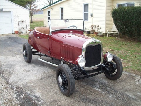 1928 Ford Model A Roadster na prodej