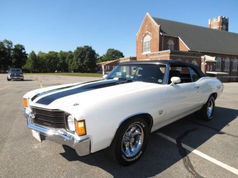 1972 Chevrolet Chevelle SS Convertible na prodej