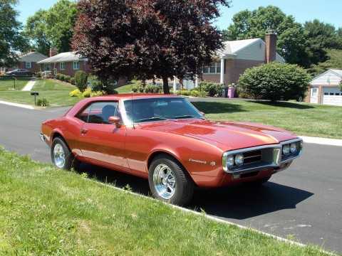 1967 Pontiac Firebird na prodej