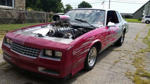 1986 Chevrolet Monte Carlo na prodej
