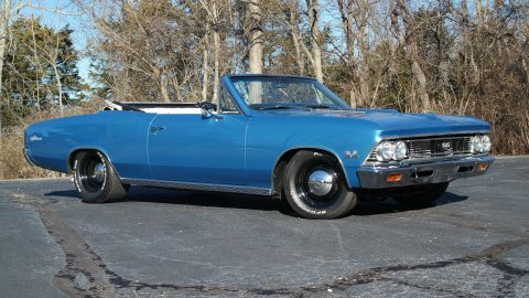 1966 Chevrolet Chevelle Convertible na prodej