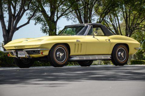 1966 Chevrolet Corvette Convertible na prodej
