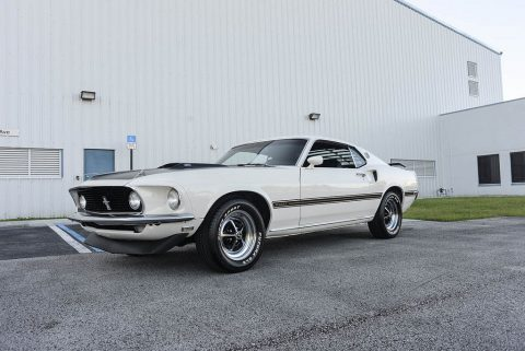 1969 Ford Mustang Mach 1 na prodej