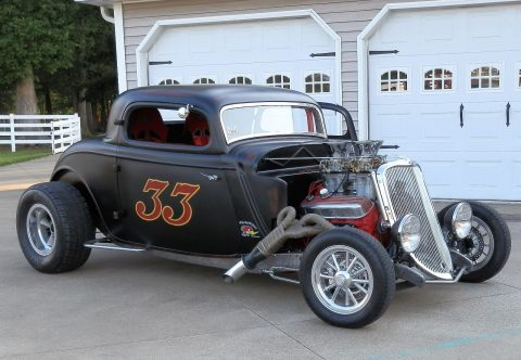 1933 Ford 3 Window Coupe na prodej