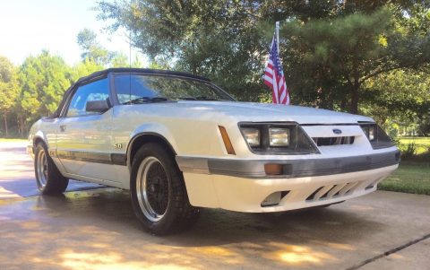 1985 Ford Mustang GT Convertible na prodej