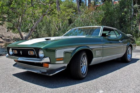 1972 Ford Mustang Mach 1 na prodej