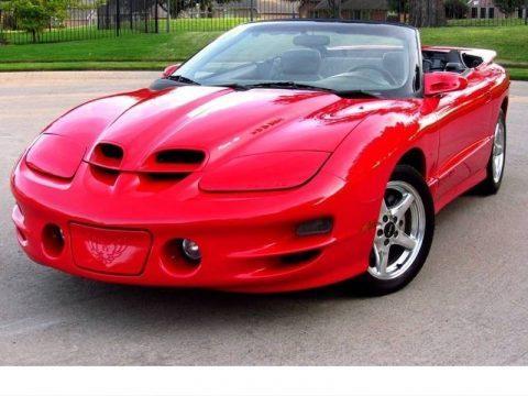1998 Pontiac Firebird Trans Am Convertible na prodej