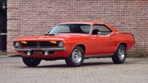 1970 Plymouth 'Cuda na prodej