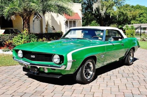 1969 Chevrolet Camaro SS Convertible na prodej