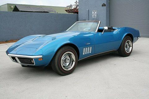 1969 Chevrolet Corvette Convertible na prodej