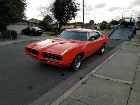 1968 Pontiac GTO na prodej