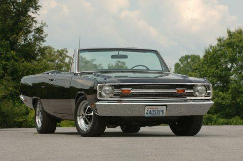 1969 Dodge Dart GT Convertible na prodej