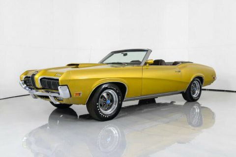 1970 Mercury Cougar XR7 Convertible na prodej