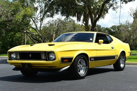 1973 Ford Mustang Mach 1 na prodej