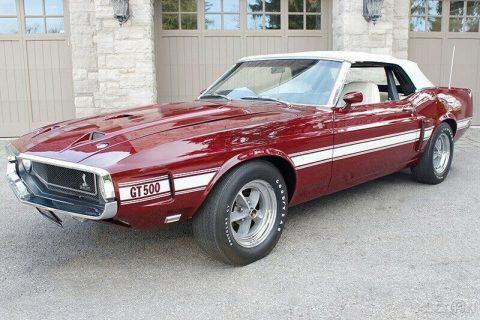 1969 Shelby GT500 na prodej