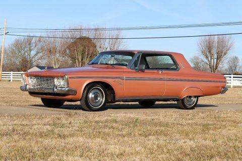 1963 Plymouth Fury na prodej