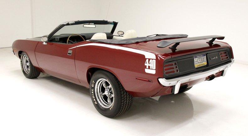 1970 Plymouth 'Cuda Convertible